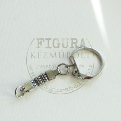 """Kulcstartó """"fémszalagos"""" nyitható 20*60mm"""