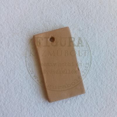 Kerámia medál téglalap 28*50mm