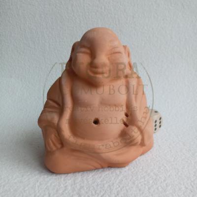 Kerámia Buddha 8cm magas