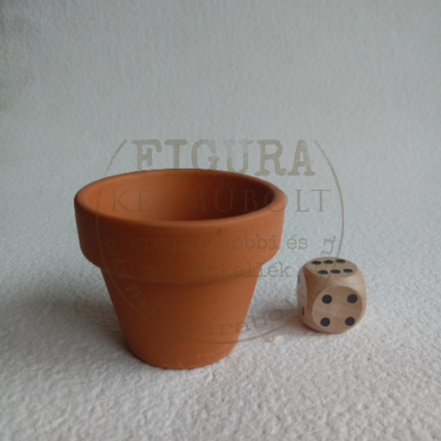 Mini virágcserép, belső nagyátmérő 40mm