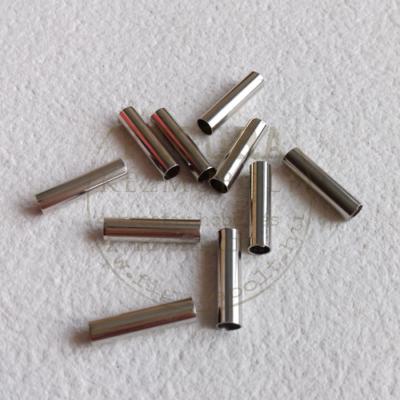 Fém köztes, cső, nikkel színű 4*16mm*5db/cs.