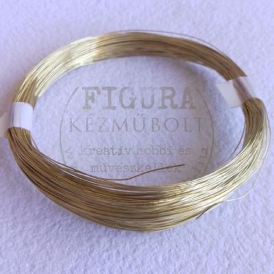 Ékszerdrót 0,4mm*20m - arany