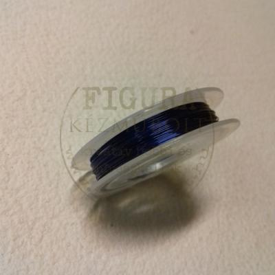 Ékszerdrót 7,5m*0,3mm - SÖTÉTKÉK