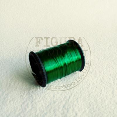 Ékszerdrót 7,5m*0,3mm - ZÖLD