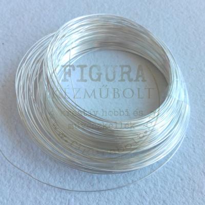 Ékszerdrót 0,3mm*25m - ezüst