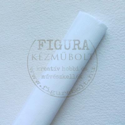 Krepp papír - 02 FEHÉR