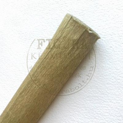 Virágkrepp metál 50*50cm - ARANY