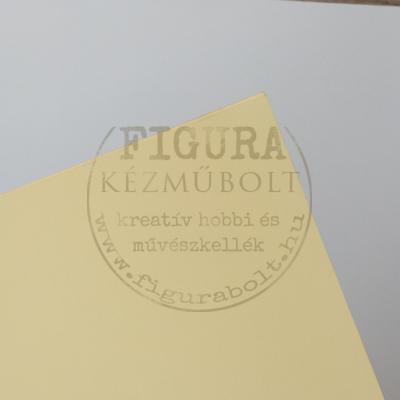 Kétoldalas karton A4 200g/m2 - VANÍLIA
