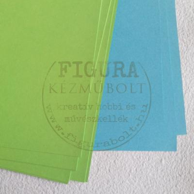 Kétoldalas karton A4 200g/m2 - VILÁGOSZÖLD