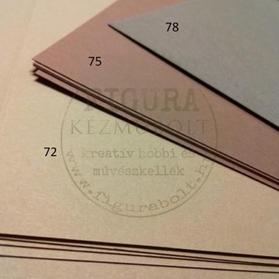 Fotókarton kétoldalas A4 300g/m2 - 73 barna