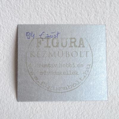 Fotókarton kétoldalas A4 300g/m2 - 94 ezüst