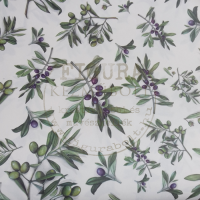 Decoupage papír (dekupázs) Tasotti 50*70cm - Olajbogyó