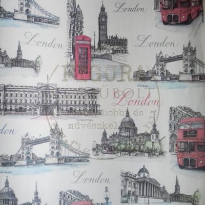 Decoupage papír (dekupázs) Tasotti 50*70cm - London