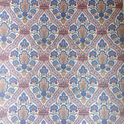 Decoupage papír (dekupázs) Tasotti 50*70cm - Keleti minta kék-bordó