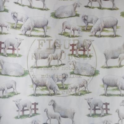Decoupage papír (dekupázs) Tasotti 50*70cm - Bárányok