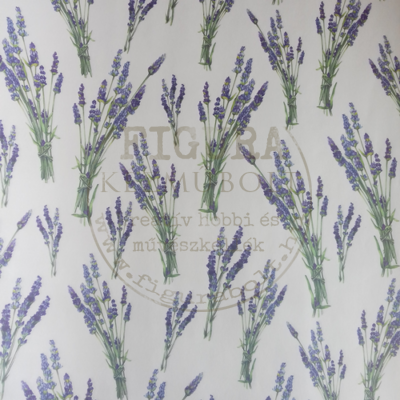 Decoupage papír (dekupázs) Tasotti 50*70cm - Levendula