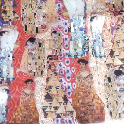 Decoupage papír (dekupázs) 50*70cm - Klimt DFG191 - PIROS-BARNA