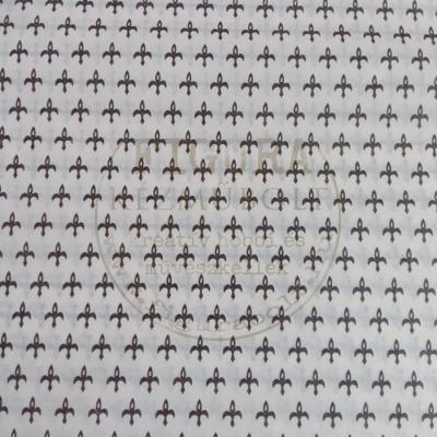 Decoupage papír (selyempapír vastagságú) 25*35cm - Bézs/Barna francialiliomok