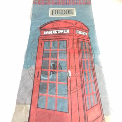 Rizspapír 33*48cm - Londoni telefonfülke