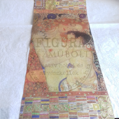 Rizspapír 24*58cm - Klimt - Anyaság