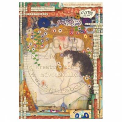 Rizspapír A4 Stamperia - Klimt - Anyaság