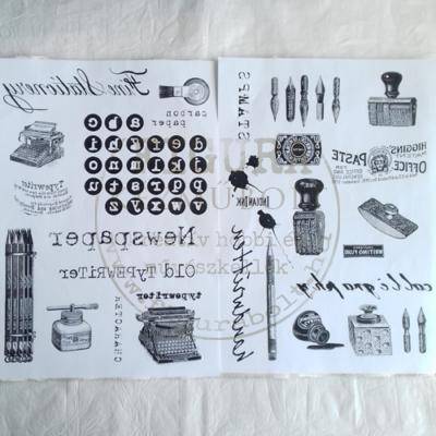Transzfer papír 2*A4 - Írógép / Tollak, bélyegzők