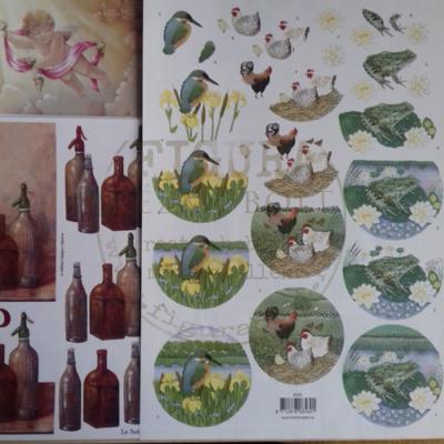 3D kép készítő - madár, tyúk, béka (A4 alapról 3 kép)