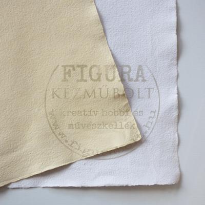 Merített papír A5 - NATÚR