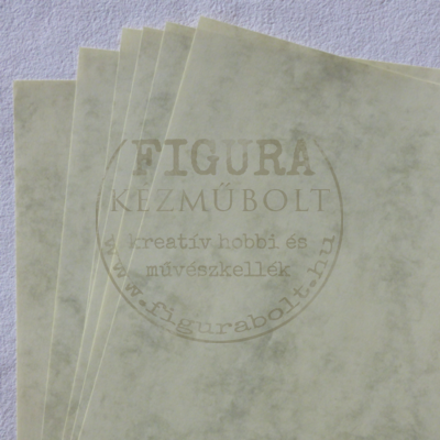 Tónuspapír A4 - Krém márványos