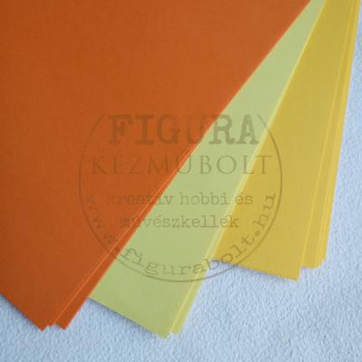 Tónuspapír A4 130g/m2 - 15 napsárga