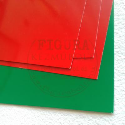 Plakátkarton A4 fényes - PIROS