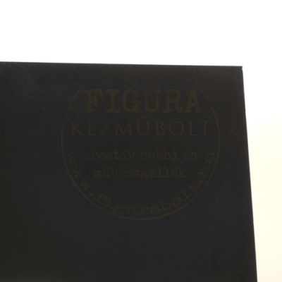 Plakát karton fényes 50*70cm - FEKETE