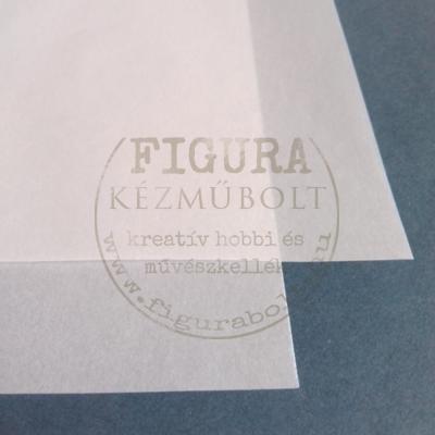 Pausz papír 42*60cm - fehér