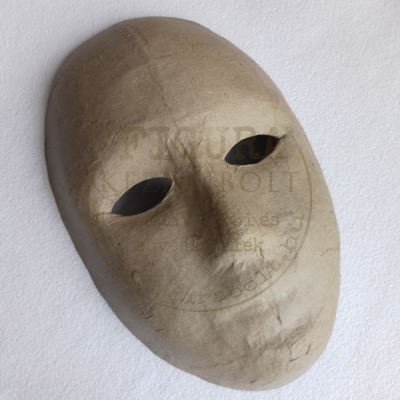 Papírmasé álarc - gyermek arc 215*135mm