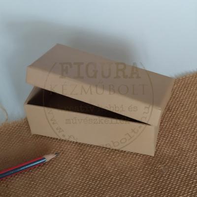 Papírmasé doboz tégla 7*14cm*5cm magas