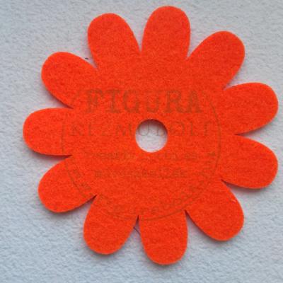 Filc virág 10cm - NARANCS
