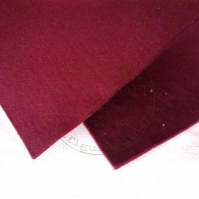 Filc anyag (dekorfilc) 30*45cm / 3,5mm vastag -Bordó