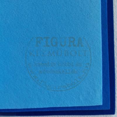 Filc anyag (dekorfilc) A4/1mm - VILÁGOSKÉK