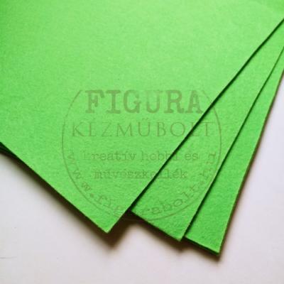 Filc anyag (dekorfilc) A4/1mm - VILÁGOSZÖLD