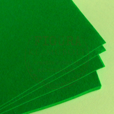 Filc anyag (dekorfilc) A4/1mm - FŰZÖLD