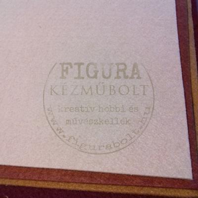 Filc anyag (dekorfilc)  40*50cm/3mm - FEHÉR