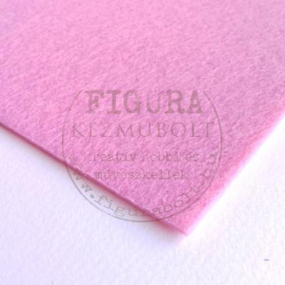 Filc anyag (dekorfilc)  40*50cm/3mm - RÓZSASZÍN
