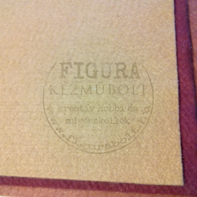 Filc anyag (dekorfilc)  40*50cm/3mm - DRAPP