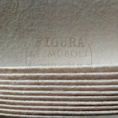 Filc anyag (dekorfilc) A4/1mm - MOGYORÓBARNA