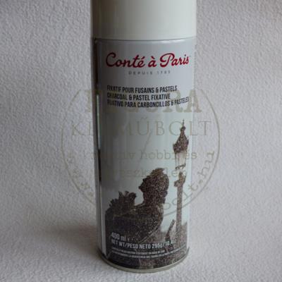 Fixatív spray - pasztelhez, szénhez Conté 400ml