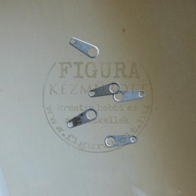 Szerelő lapka 10mm nikkel színű 5db/cs.