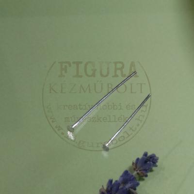 Szerelőpálca talpas 25mm nikkel színű 10db/cs.