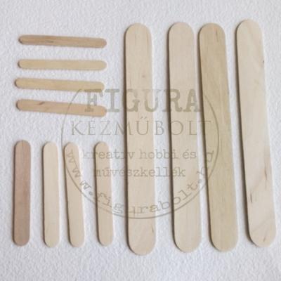 Fa spatula 150*17mm  10db/csomag