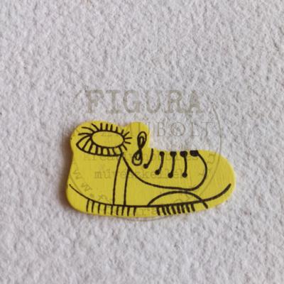 Fa tornacipő 35mm - SÁRGA