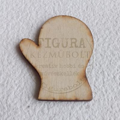 Fa kesztyű 40*50mm